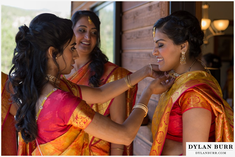 black canyon inn hindu wedding bridesmaids