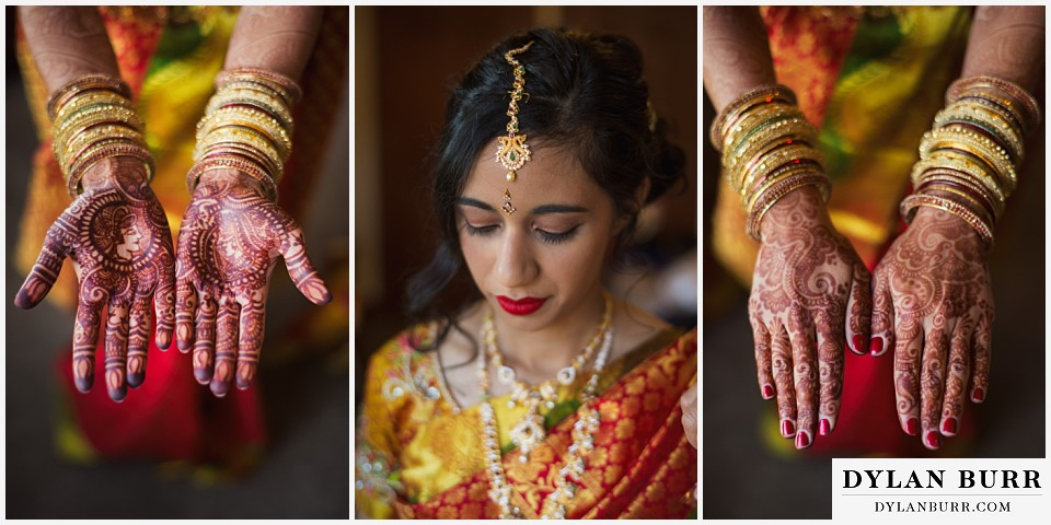 black canyon inn hindu wedding bangles and henna hands