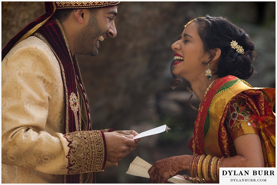 black canyon inn hindu wedding exchanging letters