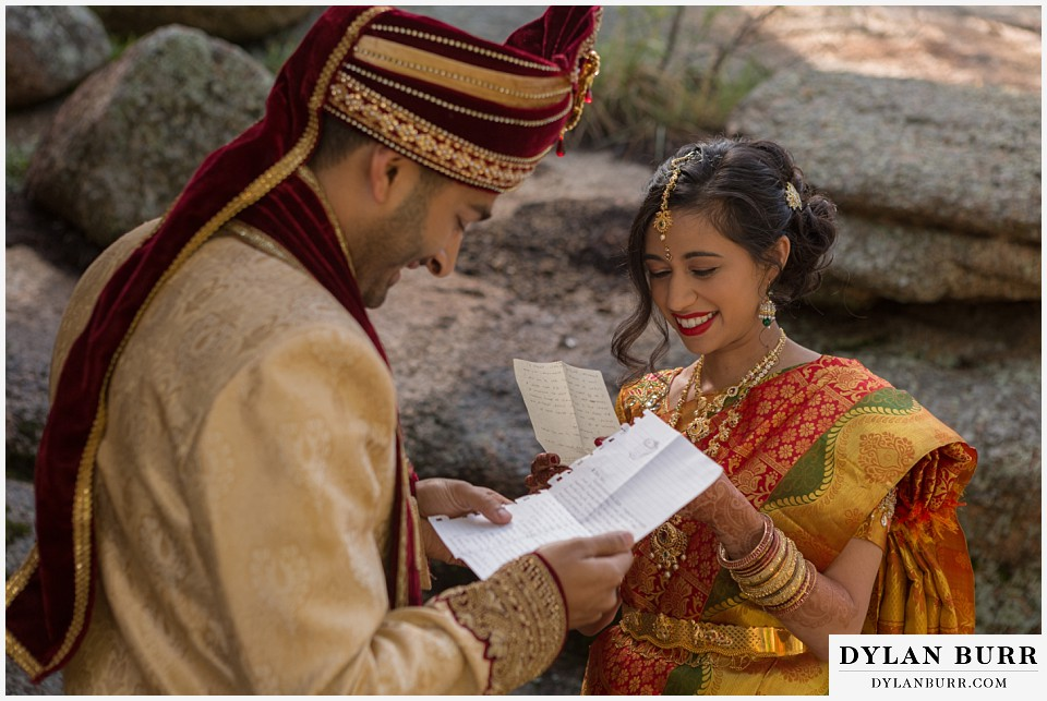 black canyon inn hindu wedding reading letters
