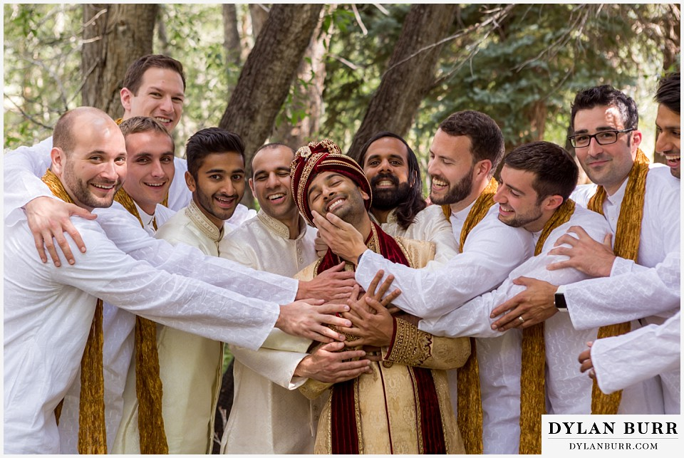 black canyon inn hindu wedding groomsmen
