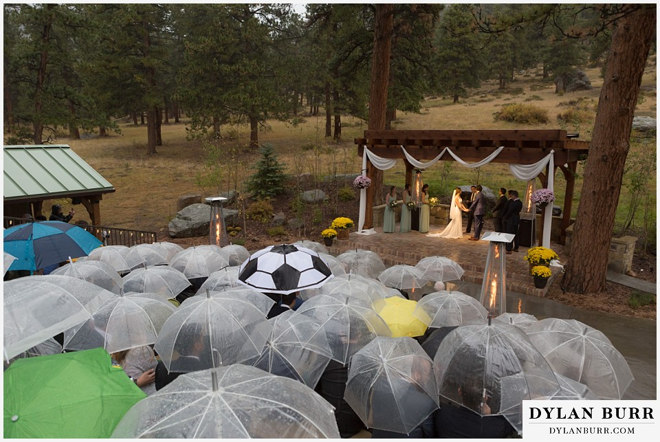 della terra wedding estes park colorado mountain wedding ceremony site