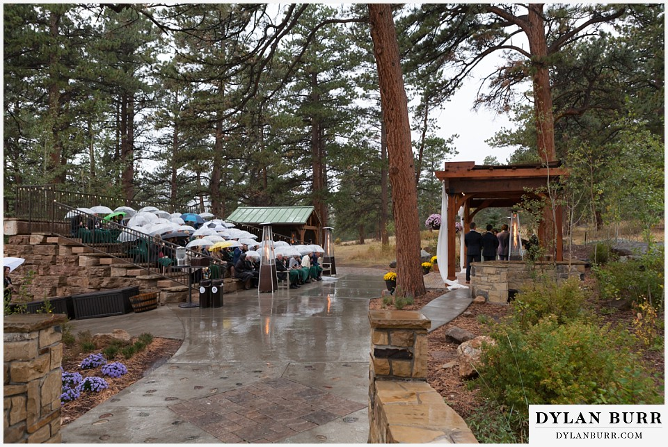 della terra wedding estes park colorado mountain wedding ceremony venue site