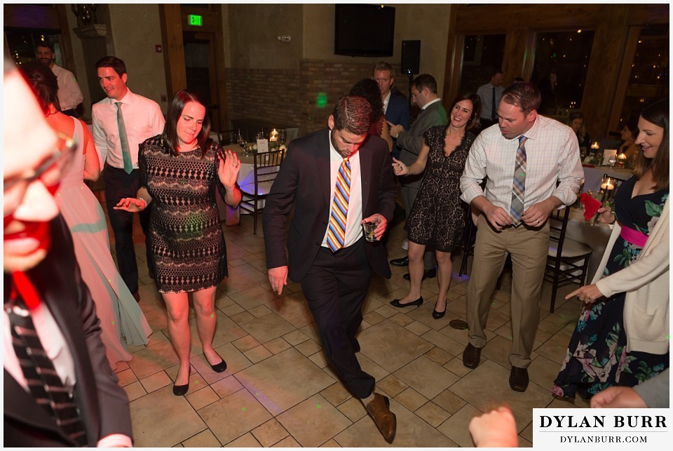 della terra wedding estes park colorado mountain wedding dance moves