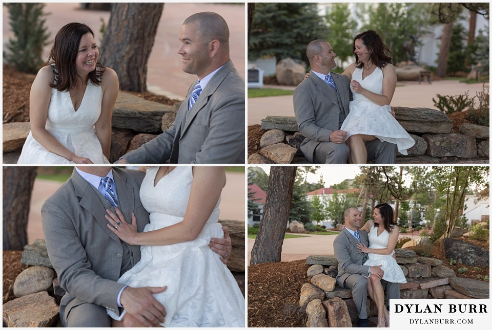 rocky mountain estes park engagement session Stanley Hotel