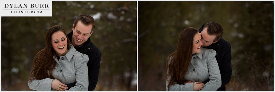 estes-park-engagement-photos-in-winter-hugging-forest