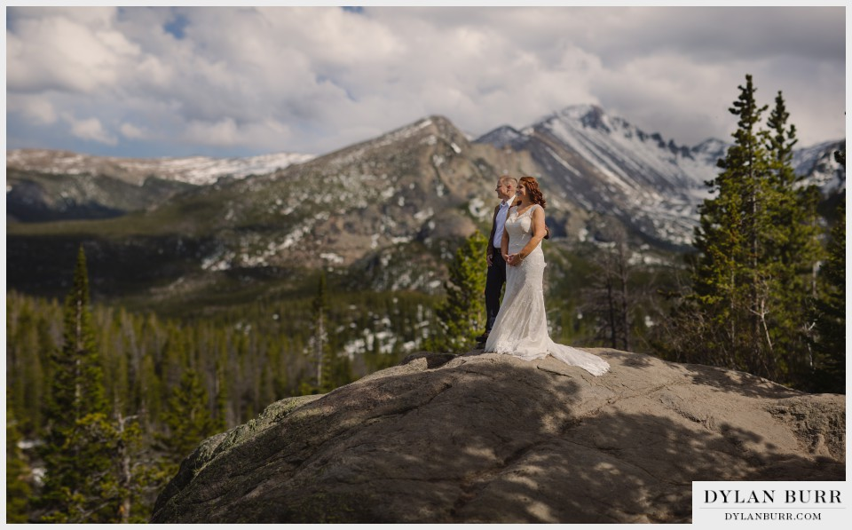 estes park mountain wedding