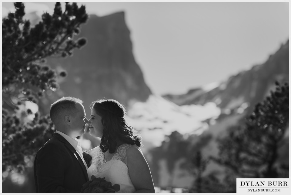 estes park wedding elopement dream lake