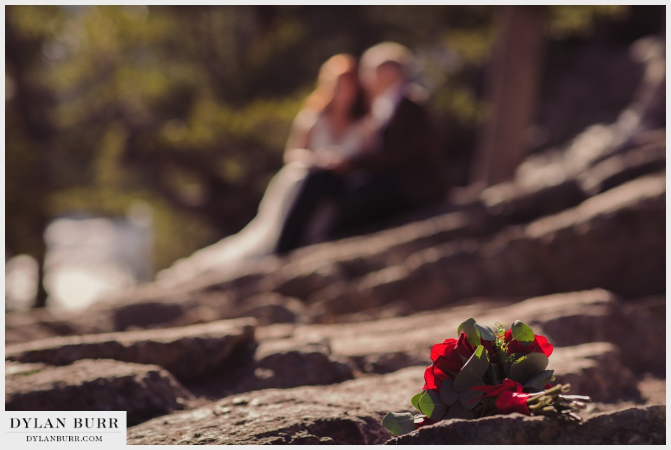 estes park wedding elopement flowers