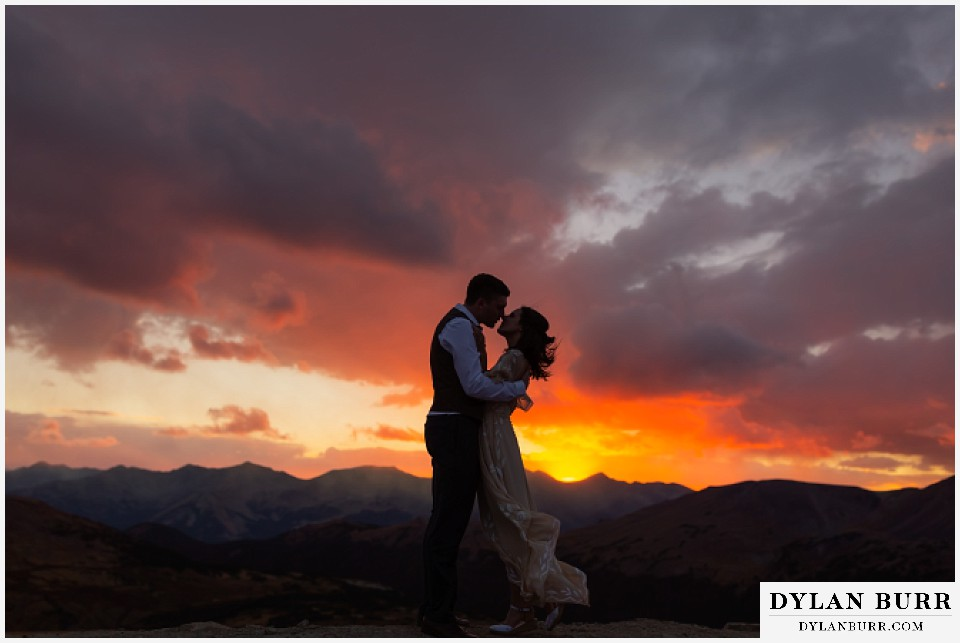 rocky mountain national park grand lake wedding elopement