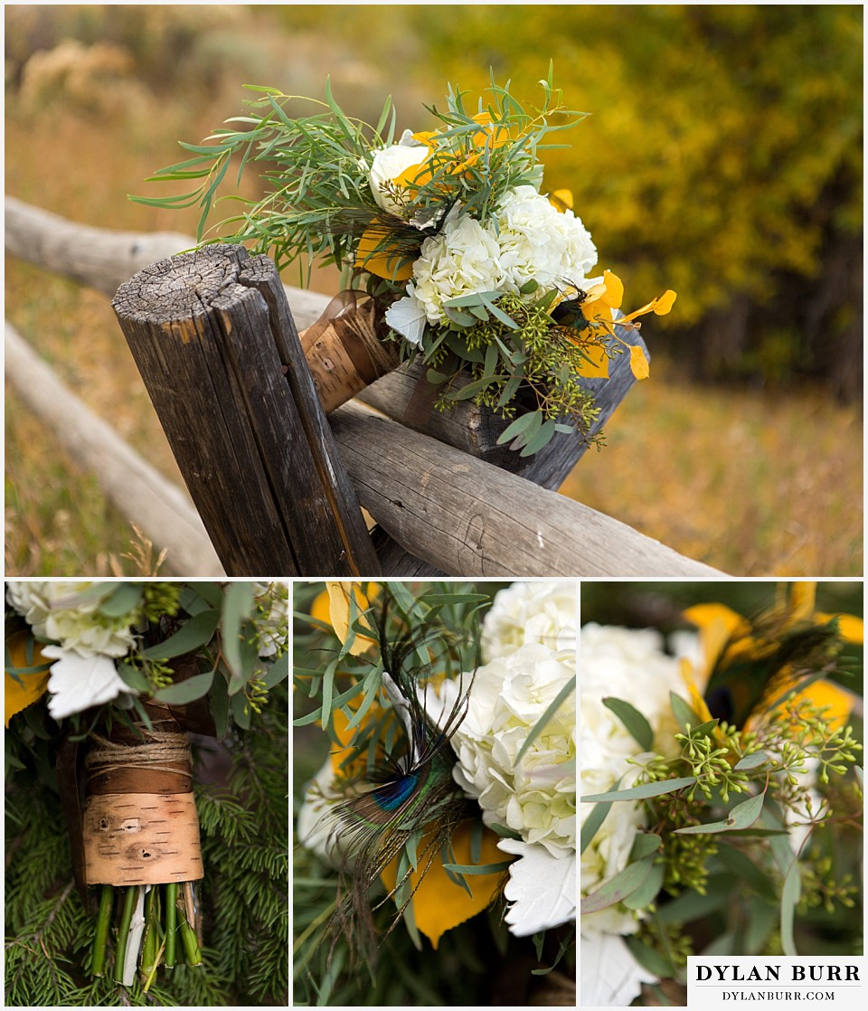grand teton wedding bouquet
