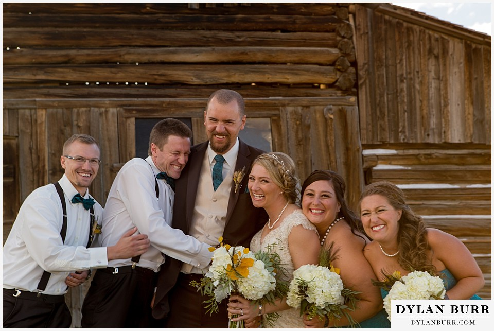 grand teton wedding bridal party ta moulton barn