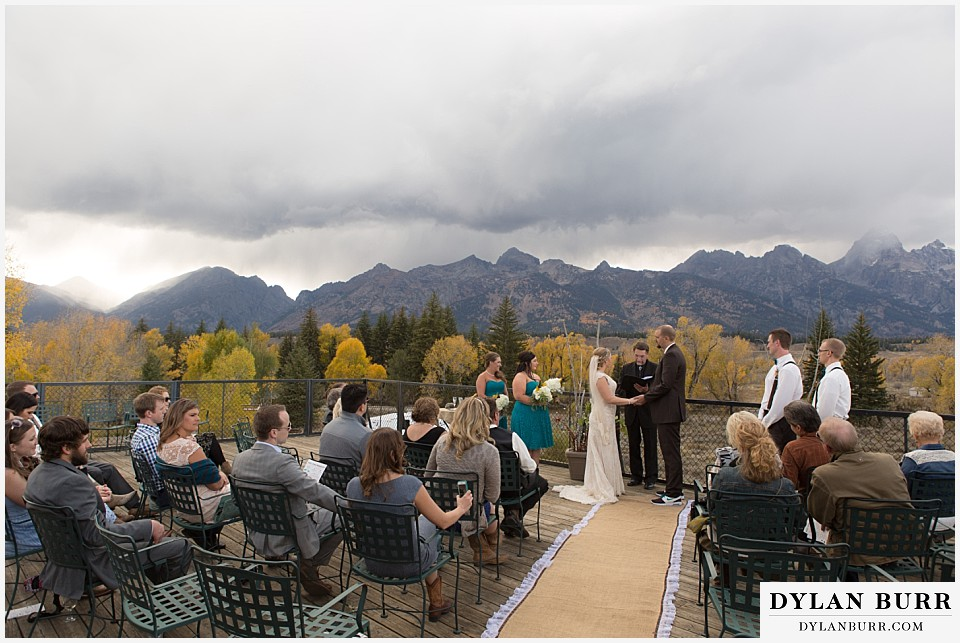 grand teton wedding ceremony dornans moose wy