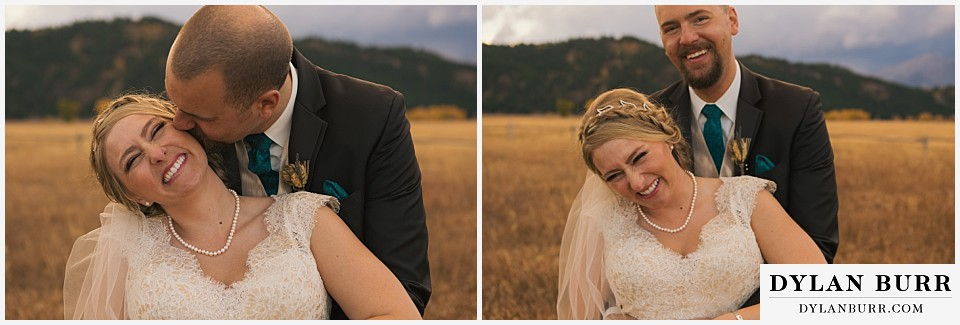 grand teton wedding fall bride groom