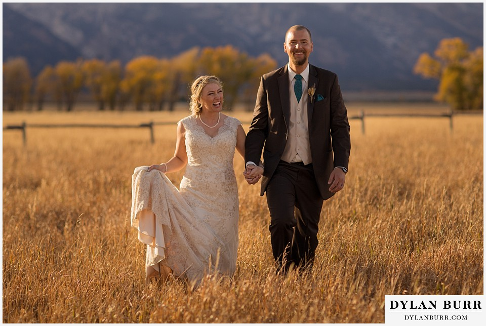 grand teton wedding photos fun