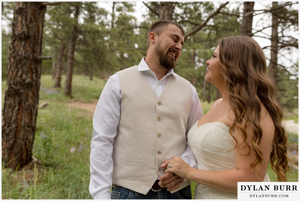 colorado mountain elopement lost gulch overlook wedding boulder co