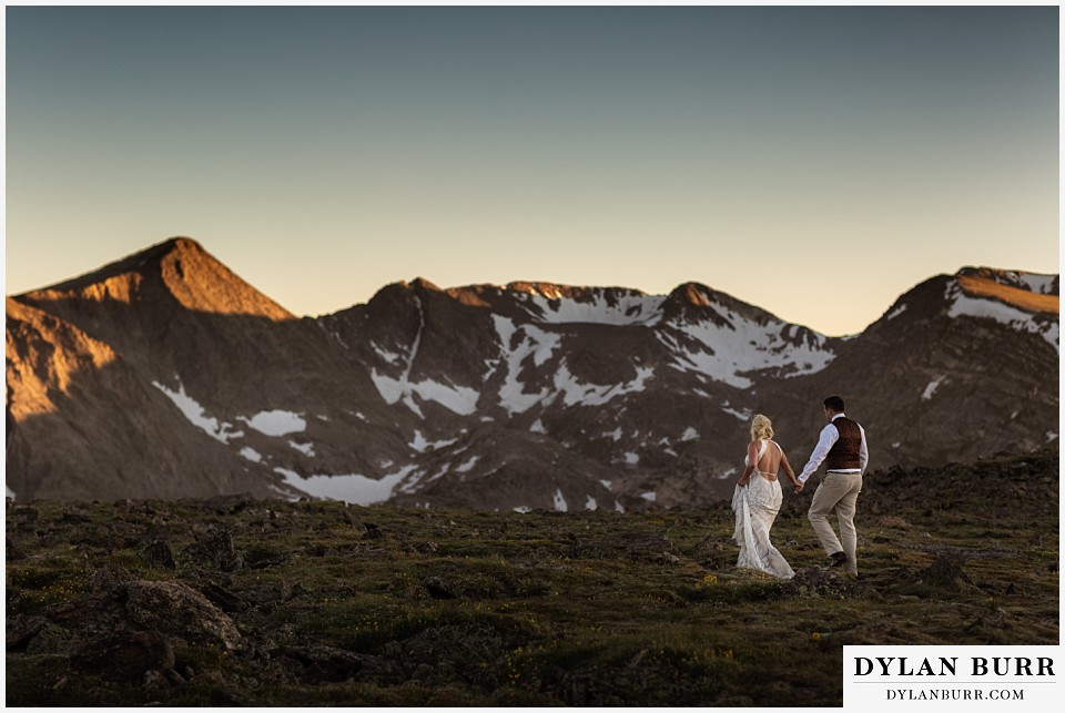 rocky mountain national park wedding elopement