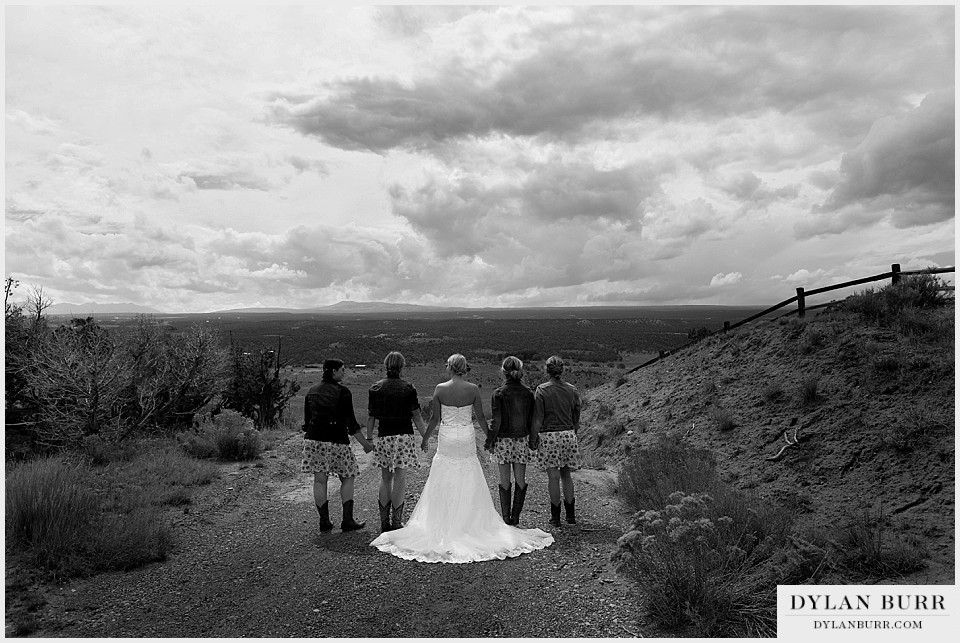 outdoor colorado wedding venues bridesmaids montrose co