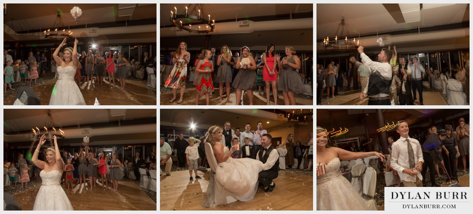 denver wedding photographer vista at applewood bouquet toss