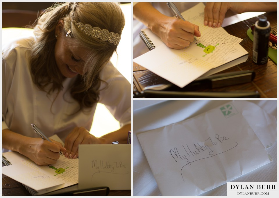 denver wedding photography brides letter to groom