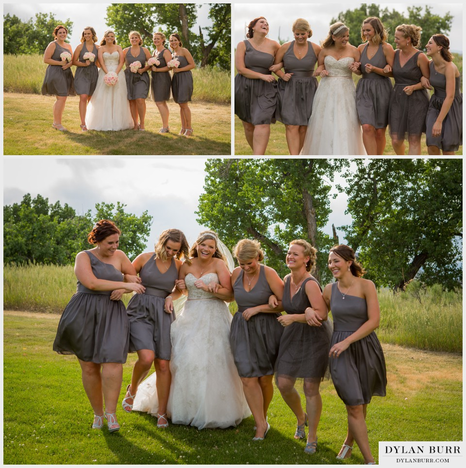 vista at applewood denver wedding bridesmaids