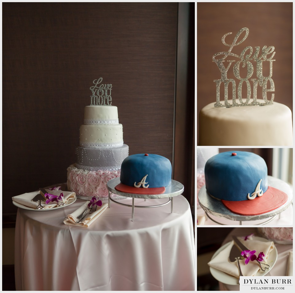 wedding cake vista at applewood atlanta braves