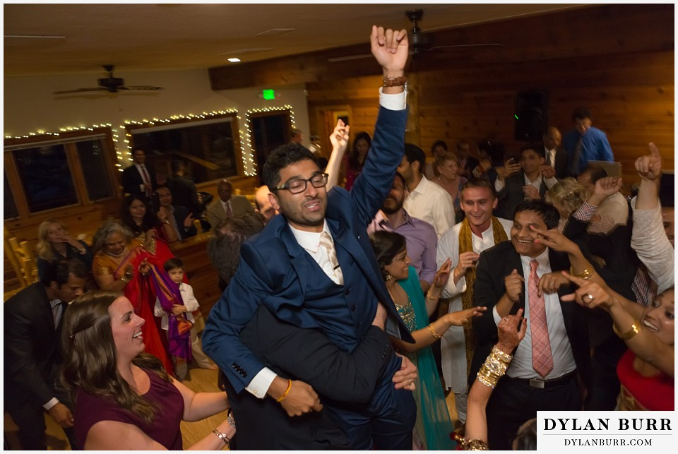 wild basin lodge hindu wedding reception party