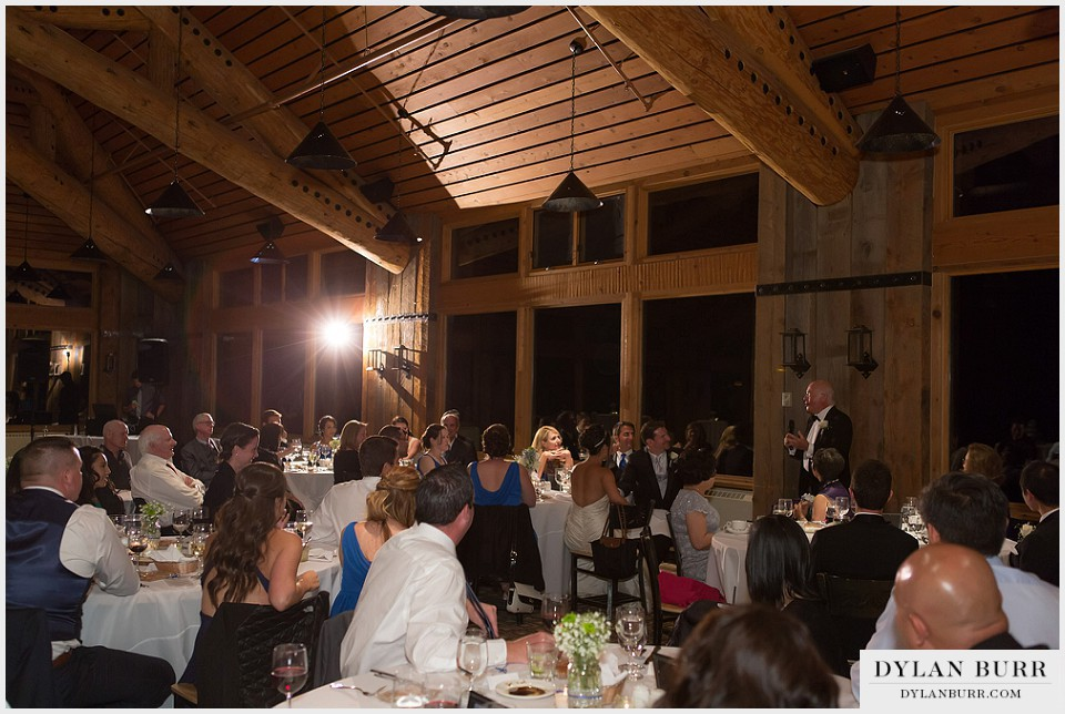 winter park wedding lodge at sunspot reception