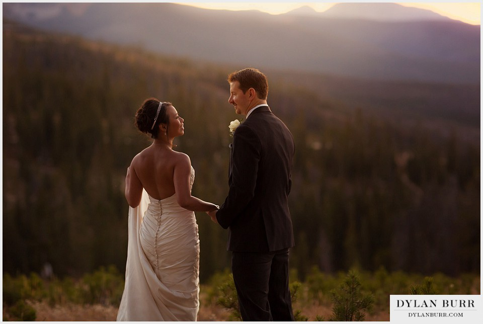 winter park wedding sunset couple lodge at sunspot