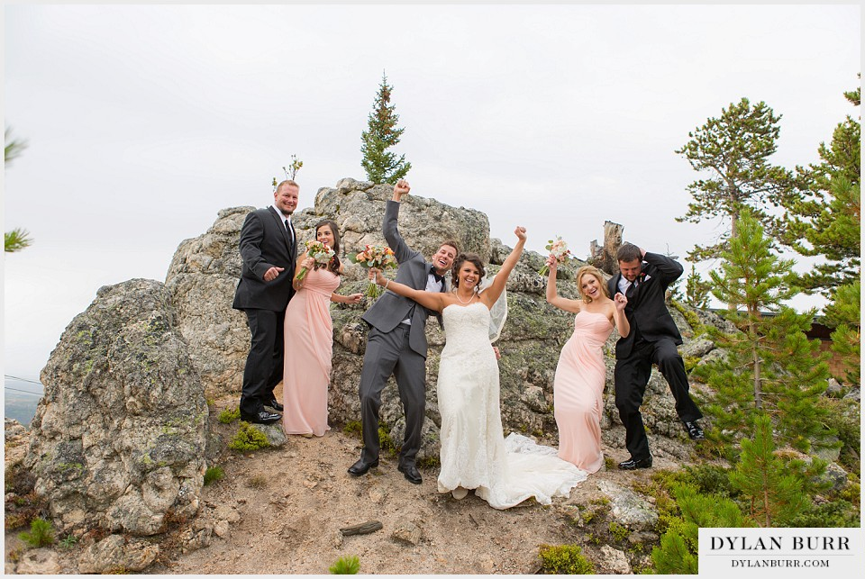 winter park wedding bridal party fun wedding-party