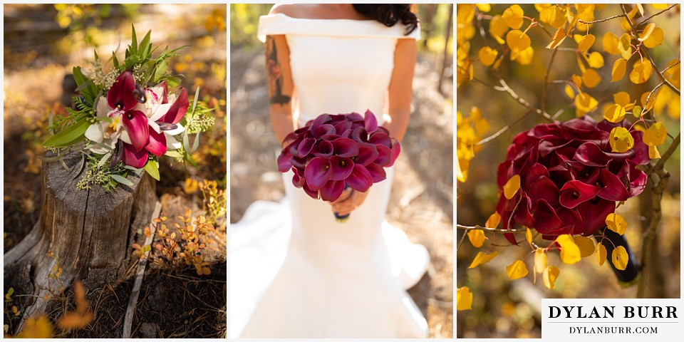 winter park mountain lodge wedding colorado bouquets